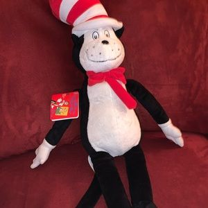 Dr Seuss Cat in the Hat Kohl's Cares Plush Stuffed
